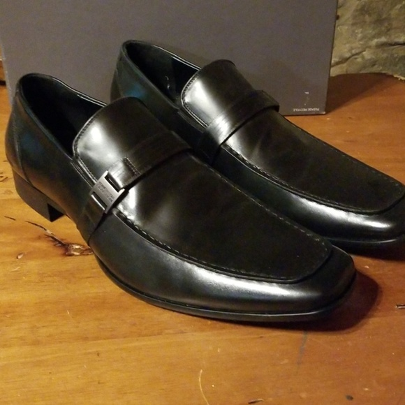 kenneth cole black loafers